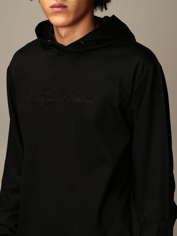 Sweatshirt Emporio Armani: Sweatshirt herren Emporio Armani schwarz 3