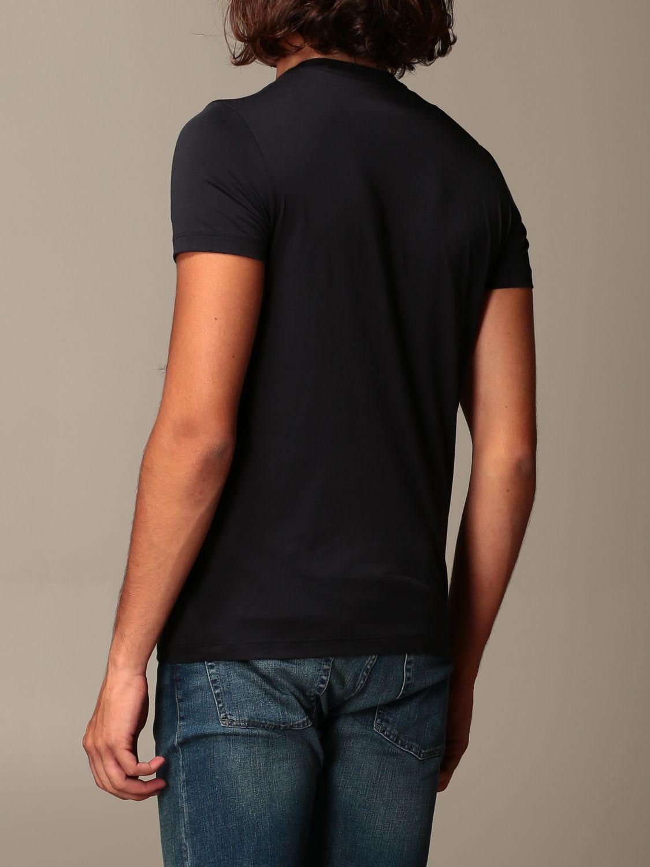 T-Shirt Emporio Armani: T-shirt herren Emporio Armani blau 2