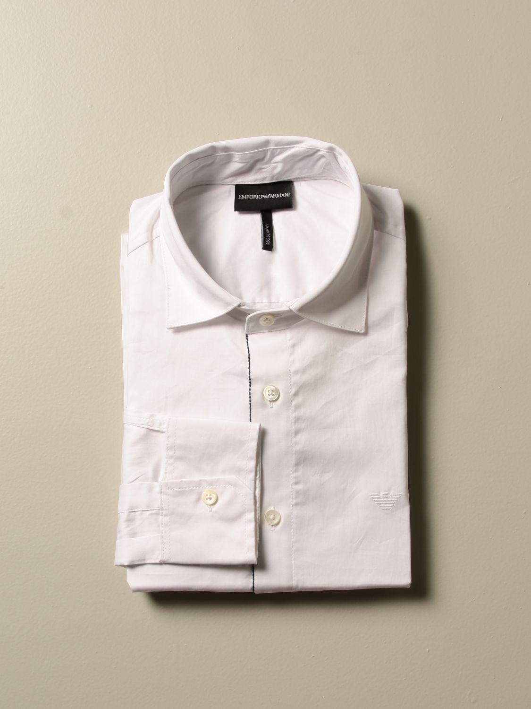 Shirt Emporio Armani: Shirt men Emporio Armani black 1