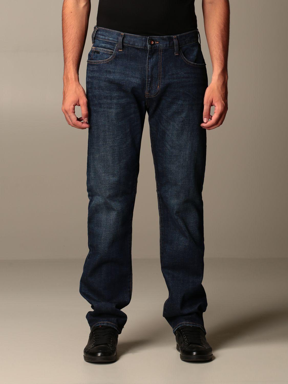Jeans Emporio Armani: Jeans men Emporio Armani denim 1