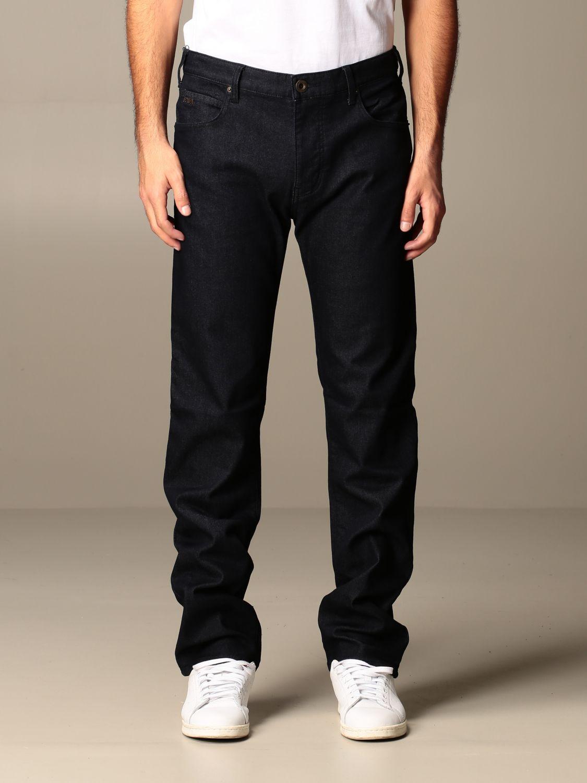 Regular Fit Emporio Armani Jeans Jeans Emporio Armani Men Blue Jeans Emporio Armani 6h1j45 1dpmz Giglio En