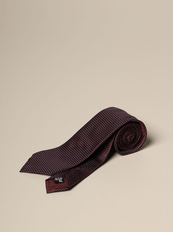Krawatte Emporio Armani: Krawatte herren Emporio Armani burgunderrot 1