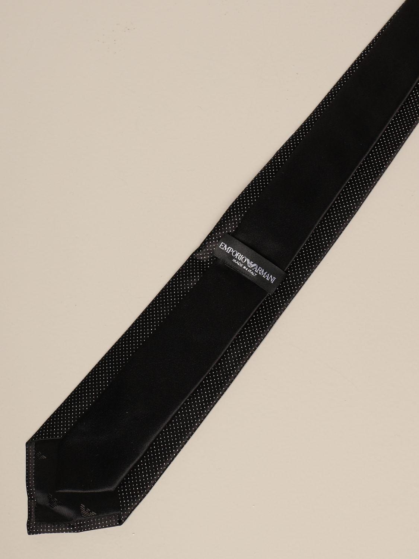 Tie Emporio Armani: Tie men Emporio Armani black 2