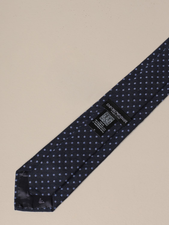 Krawatte Emporio Armani: Krawatte herren Emporio Armani blau 2