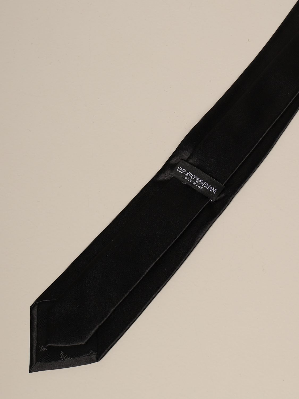 Krawatte Emporio Armani: Krawatte herren Emporio Armani schwarz 2