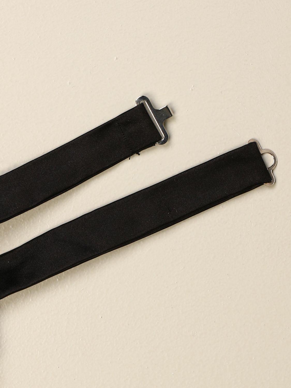Bow tie Emporio Armani: Emporio Armani silk bow tie black 2