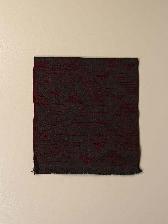 围巾 Emporio Armani: 围巾 男士 Emporio Armani 灰色 1