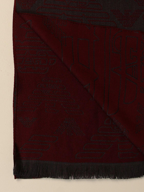 围巾 Emporio Armani: 围巾 男士 Emporio Armani 灰色 3