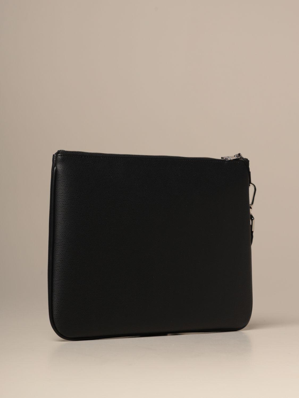 Briefcase Emporio Armani: Bags men Emporio Armani black 2