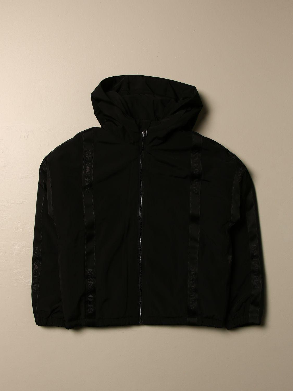 外套 Emporio Armani: 外套 儿童 Emporio Armani 黑色 1