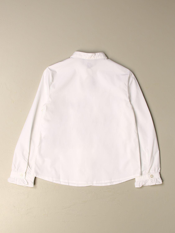 Camisa Emporio Armani: Camisa niños Emporio Armani blanco 2