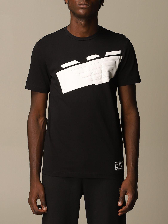 T-Shirt Ea7: T-shirt herren Ea7 schwarz 1