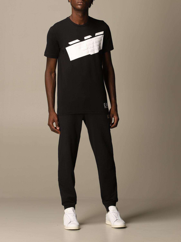 T-Shirt Ea7: T-shirt herren Ea7 schwarz 2