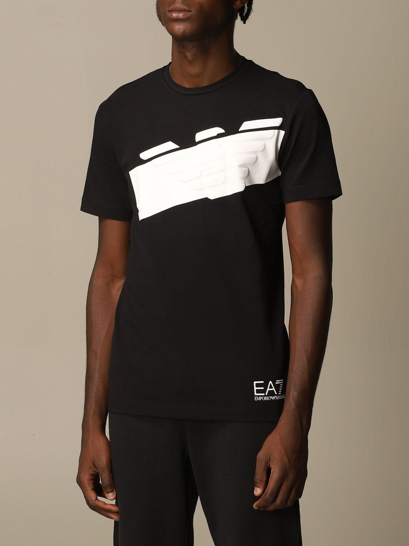 T-Shirt Ea7: T-shirt herren Ea7 schwarz 4