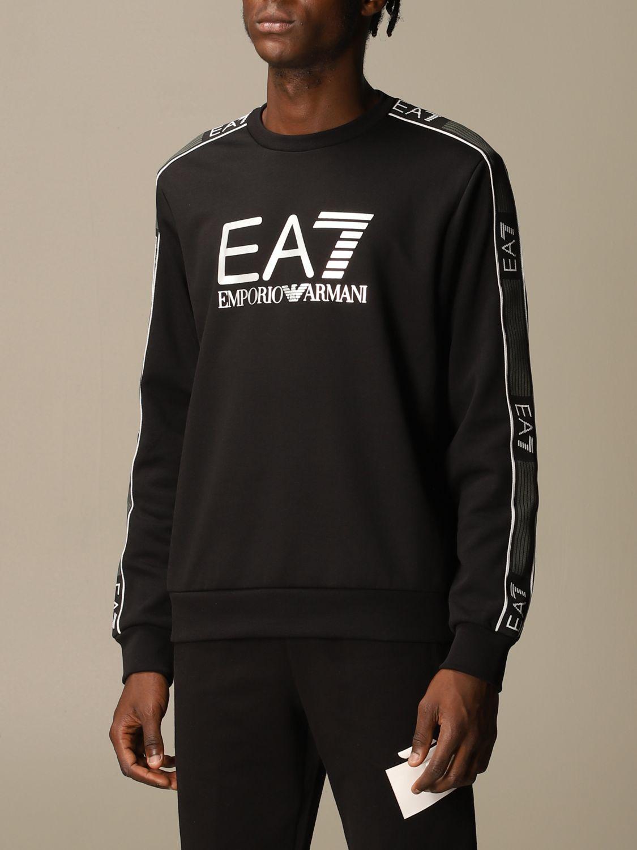 Sweatshirt Ea7: Sweatshirt men Ea7 black 4