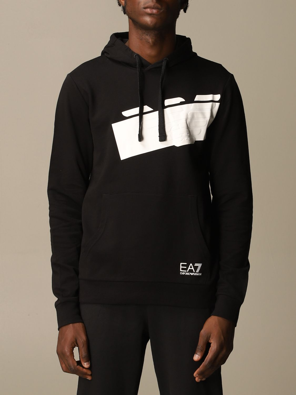 Sweatshirt Ea7: Sweatshirt men Ea7 black 1
