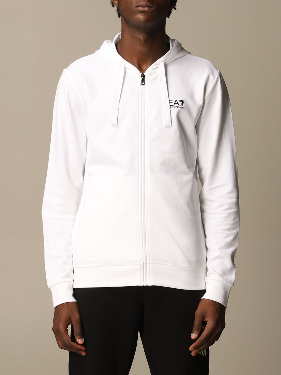 Sweatshirt Ea7: Sweatshirt men Ea7 white 1