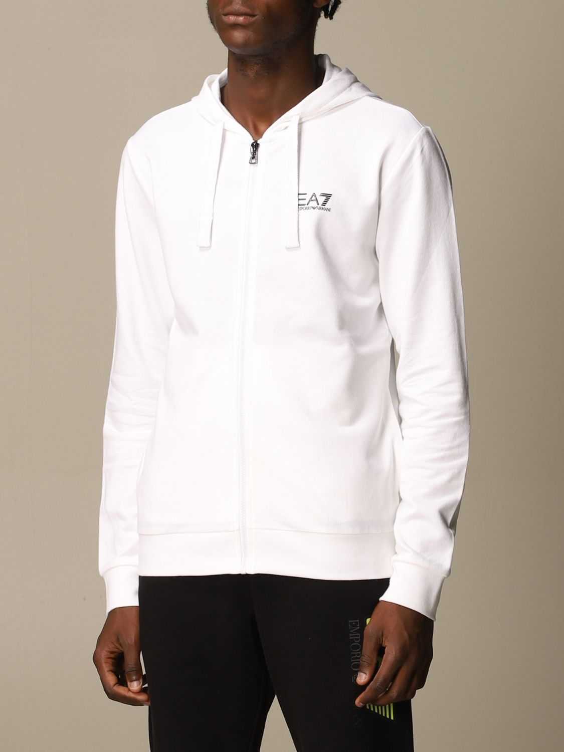 Sweatshirt Ea7: Sweatshirt men Ea7 white 4