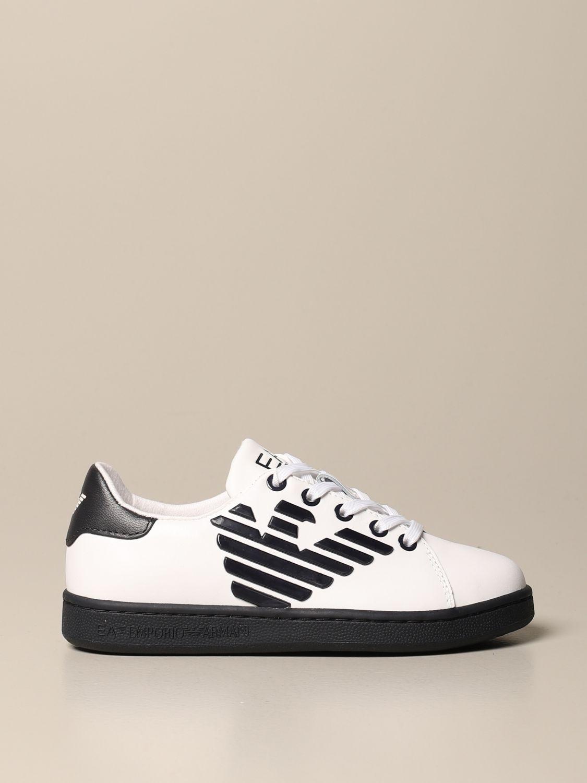 鞋履 Ea7: 鞋履 儿童 Ea7 白色 1
