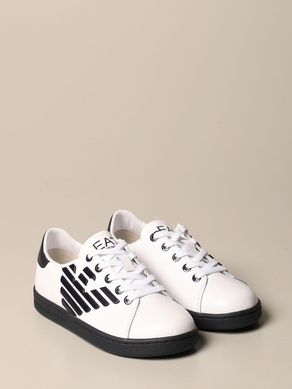 鞋履 Ea7: 鞋履 儿童 Ea7 白色 2