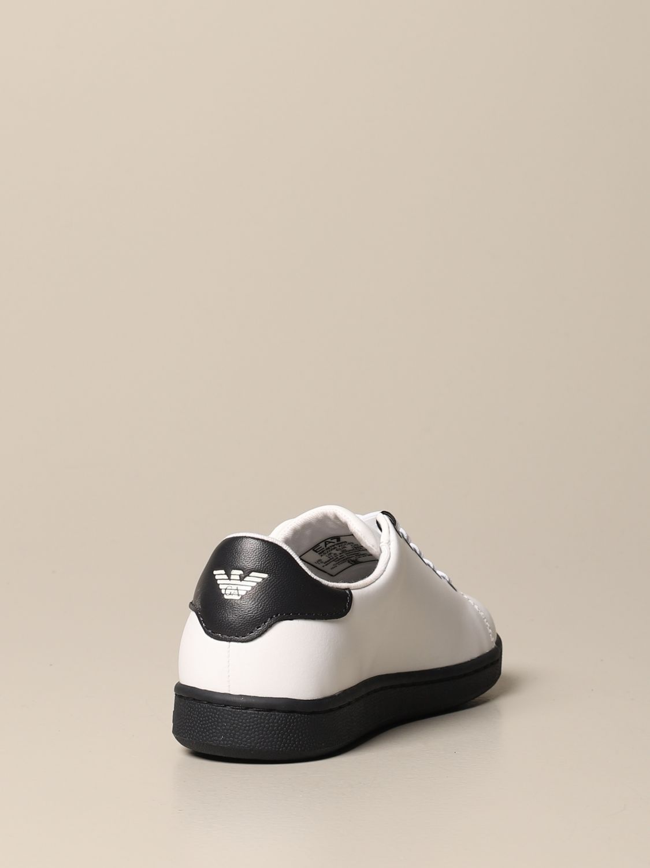 鞋履 Ea7: 鞋履 儿童 Ea7 白色 3