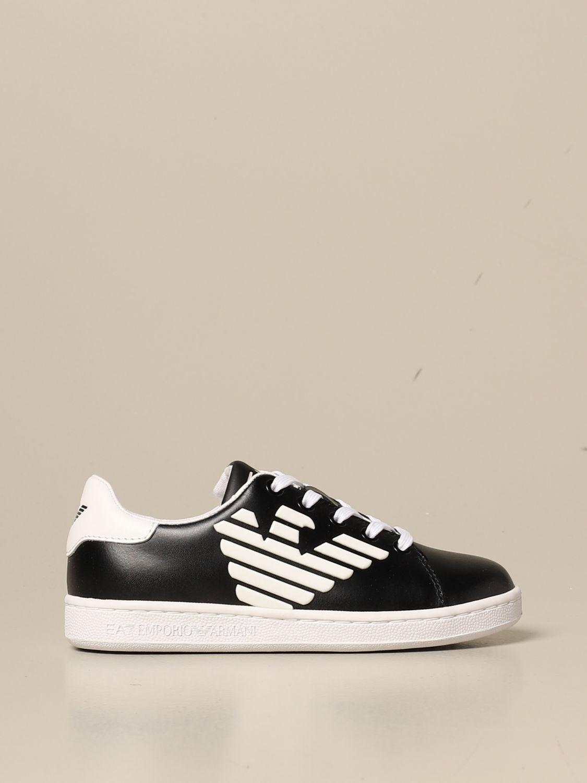 鞋履 Ea7: 鞋履 儿童 Ea7 黑色 1