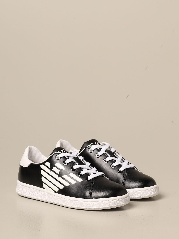 鞋履 Ea7: 鞋履 儿童 Ea7 黑色 2