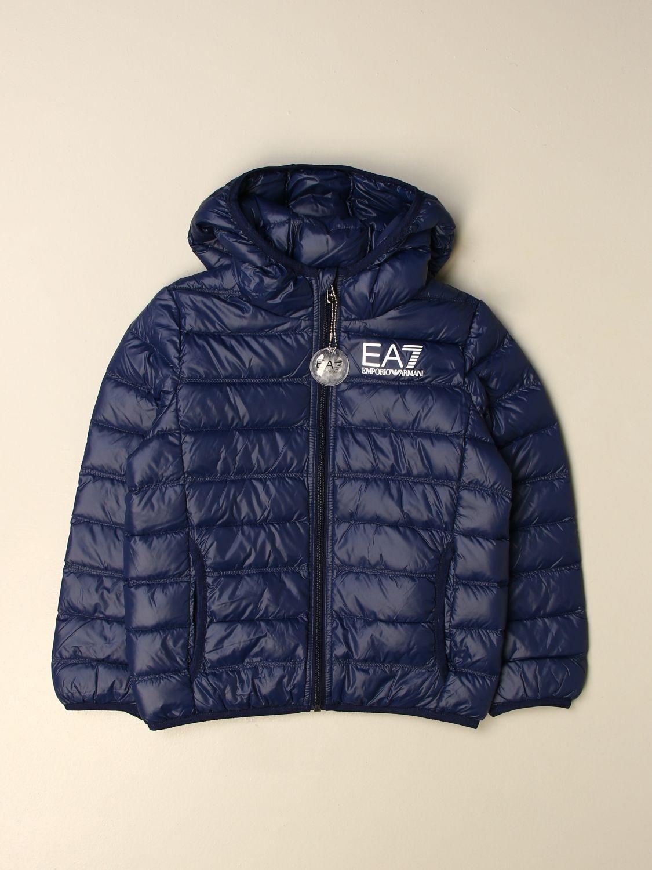 Jacke Ea7: Jacke kinder Ea7 blau 1