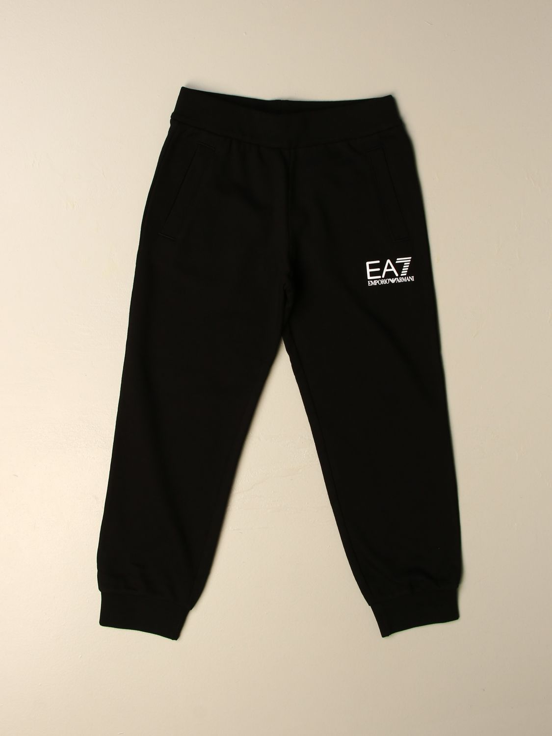 Trousers Ea7: Trousers kids Ea7 black 1