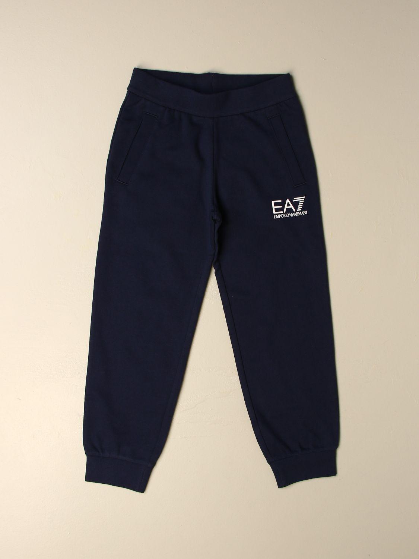 Pantalon Ea7: Pantalon enfant Ea7 bleu 1