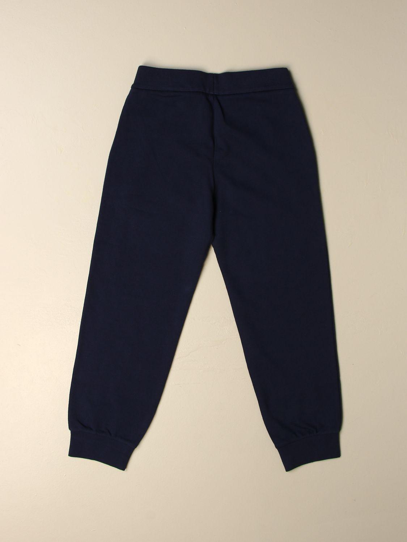 Pantalon Ea7: Pantalon enfant Ea7 bleu 2