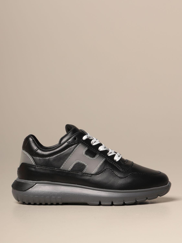 Zapatos Hogan: Zapatos niños Hogan negro 1