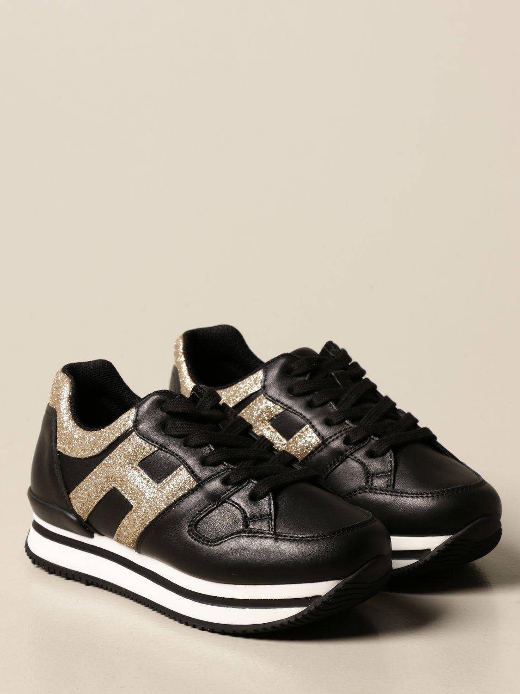 Zapatos Hogan: Zapatos niños Hogan negro 2
