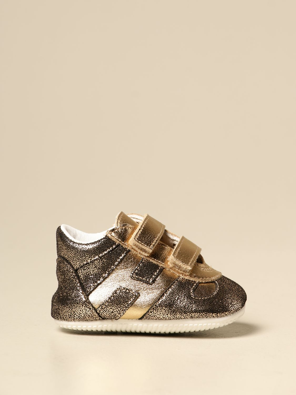 Zapatos Hogan: Zapatos niños Hogan oro 1