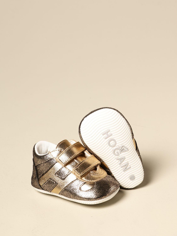 Zapatos Hogan: Zapatos niños Hogan oro 2