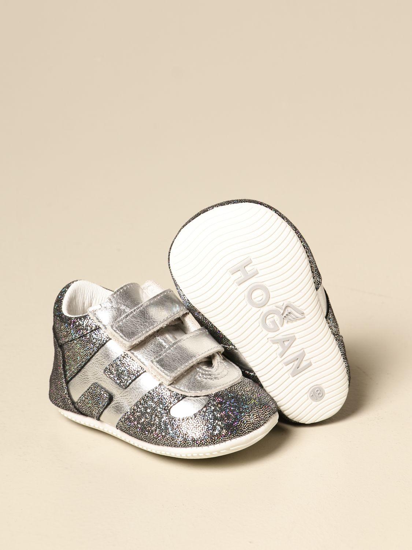 Zapatos Hogan: Zapatos niños Hogan plata 2