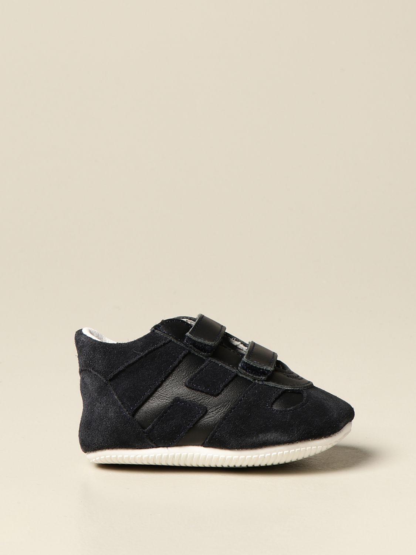 Zapatos Hogan: Zapatos niños Hogan azul oscuro 1