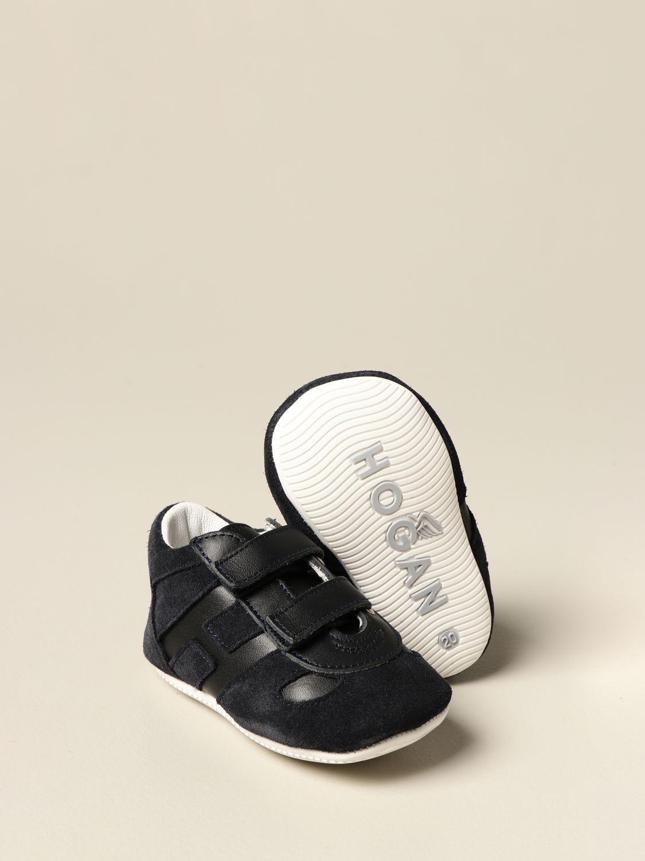 Zapatos Hogan: Zapatos niños Hogan azul oscuro 2