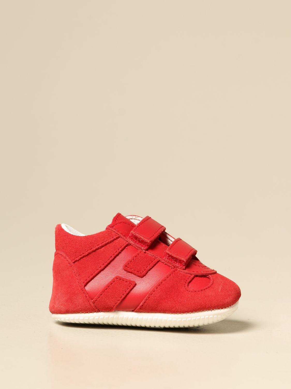 Zapatos Hogan: Zapatos niños Hogan rojo 1