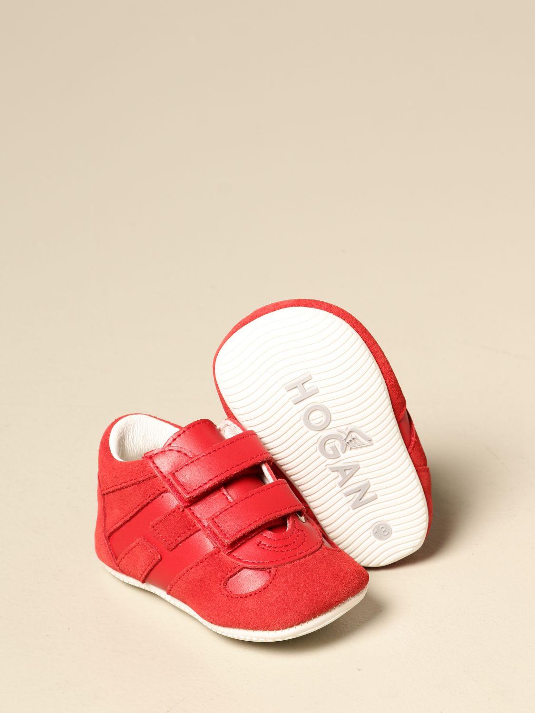 Zapatos Hogan: Zapatos niños Hogan rojo 2