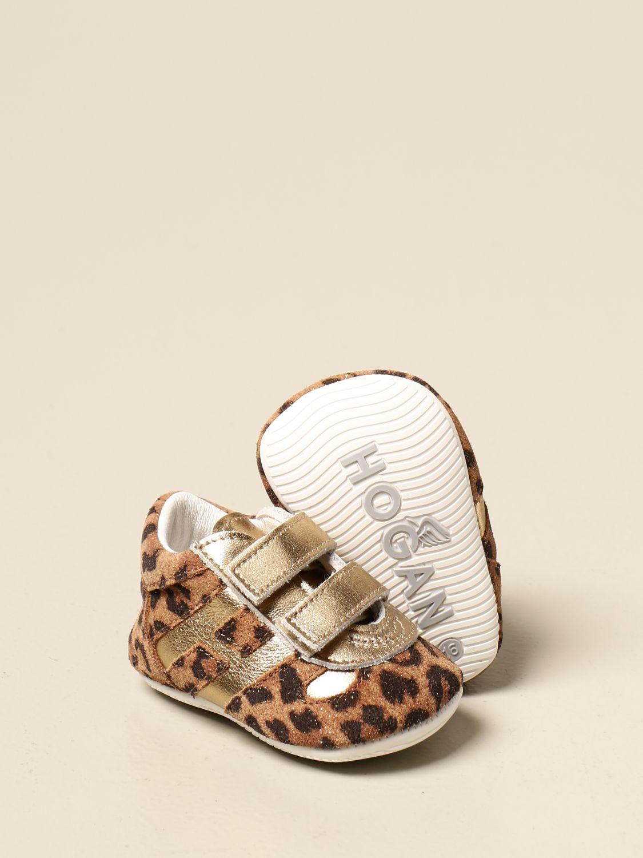 Zapatos Hogan: Zapatos niños Hogan beige 2