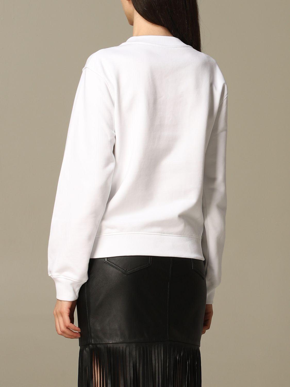 Sweatshirt Moschino Couture: Moschino Couture sweatshirt with mirror print white 3