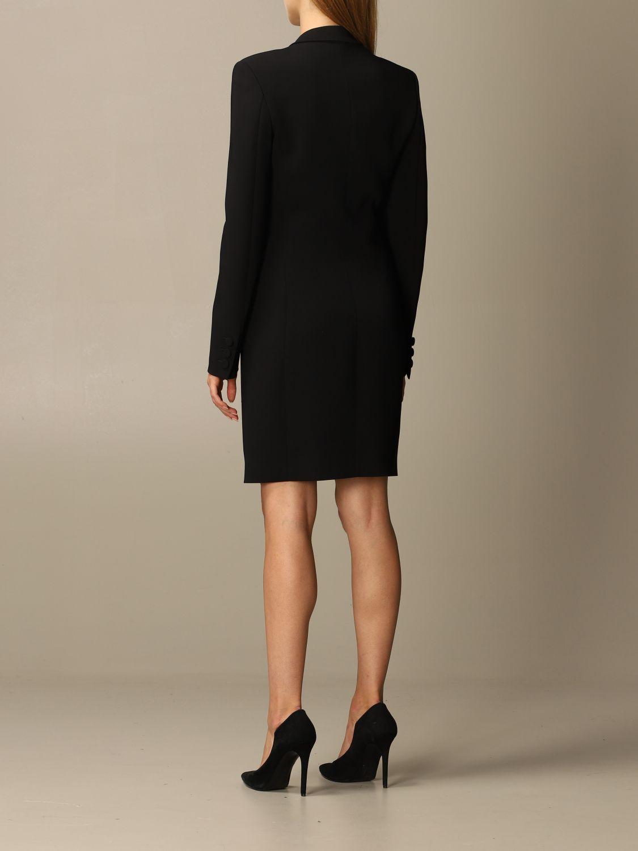 Abito Moschino Couture: Abito Moschino Couture in cady con big zip nero 2