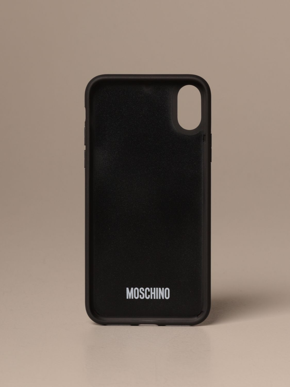 Coque Moschino Couture: Coque Iphone Xs / X Moschino Couture Teddy noir 2