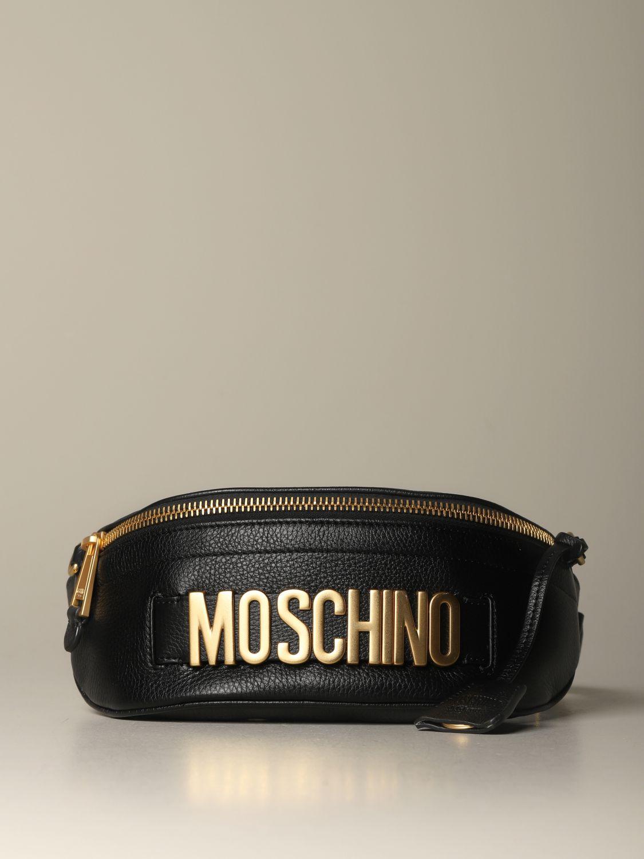 Belt bag Moschino Couture: Shoulder bag women Moschino Couture black 1