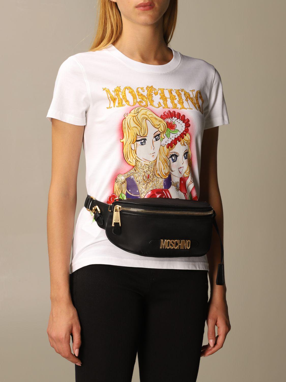 Belt bag Moschino Couture: Shoulder bag women Moschino Couture black 2