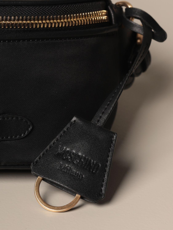 Belt bag Moschino Couture: Shoulder bag women Moschino Couture black 4