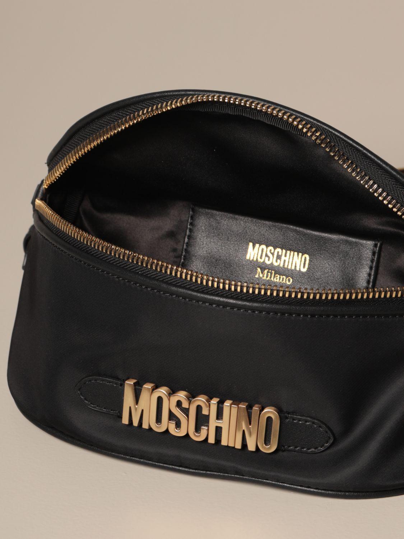 Belt bag Moschino Couture: Shoulder bag women Moschino Couture black 5