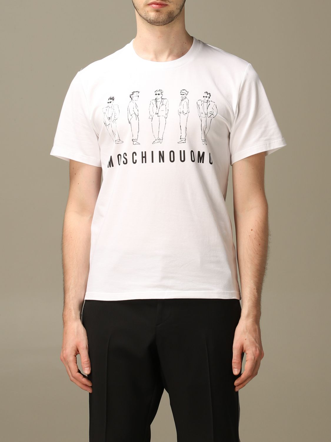 T-shirt Moschino Couture: T-shirt men Moschino Couture white 1