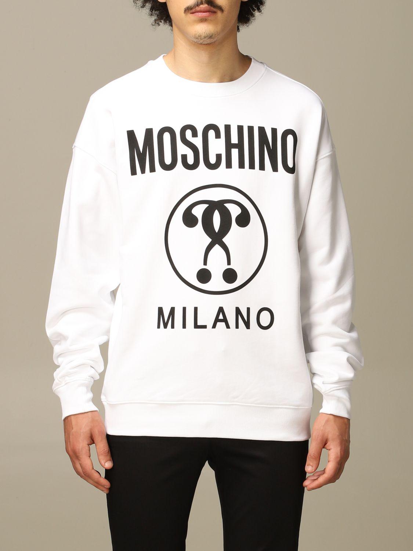 卫衣 Moschino Couture: 卫衣 男士 Moschino Couture 白色 1